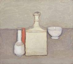Giorgio Morandi, Natura Morta, 1957, Oil, ca. 14 x 16 inches