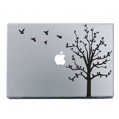 Moonlight Night Apple Mac Decal Skin Sticker Cover for MacBook Air Pro --- Mac Stickers, Mac Decals, Apple Stickers, Macbook Stickers, Macbook Decal, Macbook Air Pro, Macbook Skin, Laptop Skin, Apple Mac Laptop