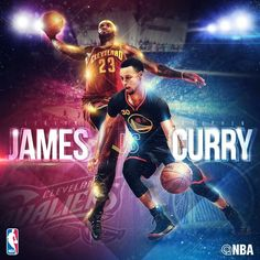 MVP candidates LeBron James and Stephen Curry