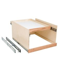 Slide-A-Shelf Made-To-Fit 12 in. to 24 in. Wide Double DekTM Slide-Out