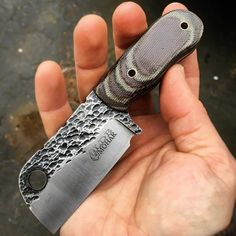 Lion's Den Blades — Pocket Cleaver.. #knife #knifelife...