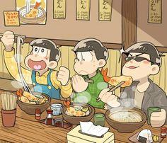 Jyushimatsu, Choromatsu & Karamatsu