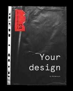 png mockup is super easy to use. Graphic Design Lessons, Graphic Design Posters, Portfolio Book, Portfolio Design, Identity Branding, Corporate Identity, Corporate Design, Identity Design, Visual Identity