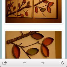 Fall canvas art