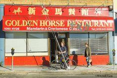 Golden Horse Restaurant In The Tenderloin, San Francisco By Mitchell Funk  www.mitchellfunk.com