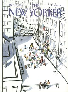The New Yorker - Monday, March 17, 1986 - Issue # 3187 - Vol. 62 - N° 4 - Cover by : Arthur Getz