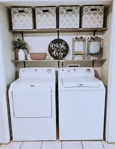 """Fantastic """"laundry room storage diy shelves"""" detail is offered on our internet site. Take a look and you wont be sorry you did. Laundry Room Decor, Laundy Room, Room Remodeling, Diy Furniture Couch, Laundry Closet, Room Storage Diy, Home Decor, Diy Furniture Table, Room Design"""
