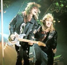 Jon Bon Jovi and Joe Elliott <3