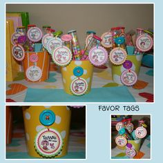 Lalaloopsy Favor Tags