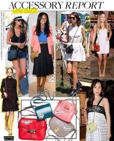 Mini Bags via @WhoWhatWear