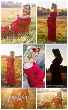 Outdoor maternity photoshoot, summer maternity photoshoot, flower crown maternity pictures, maternity photos red dress #maternityphotoshoot #flowercrownmaternitypictures