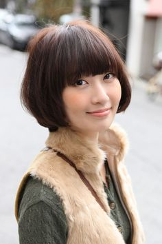Cute Asian Bob Hairstyle 2013-pin it from carden