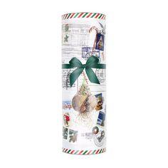 koker kerst met postontwerp