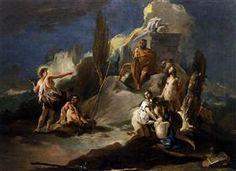 Apollo and Marsyas - Giovanni Battista Tiepolo