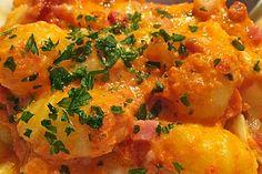 Gnocchi aus dem Ofen in Paprika - Tomaten - Sauce 3
