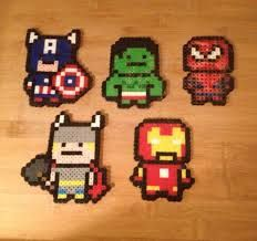 perler iron man - Google Search