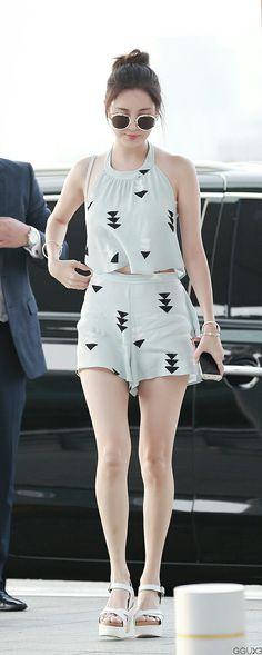 Seohyun#Airport.fashion#girls Generation