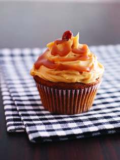Toffee cupcakes