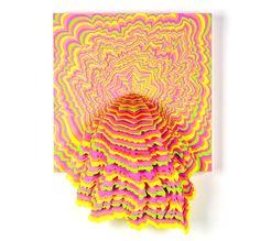 paper cut-out art by Jen Stark Jen Stark, Peter Callesen, Origami, Paper Installation, Cut Out Art, Art Web, Folded Book Art, 3d Wall Art, Paperclay