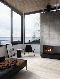 Luxury Casa Spodsbjerg in Switzerland by Visual Workshop 3d - Look my home design
