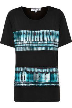 NONI B Short Sleeve Print And Plain Top $49.95 AUD  Travel short sleeve print and plain top with side splits Polyester/Elastane Item Code: 047255