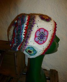 """Häkelmützen - Granny Mütze """"Josepha"""" - ein Designerstück von CrochetManiac bei…"""