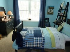 blue bedroom design 25