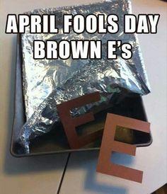 April fools for Middle School