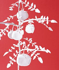 Tomato Plant made of paper by Matthew Sporzynski for Real Simple