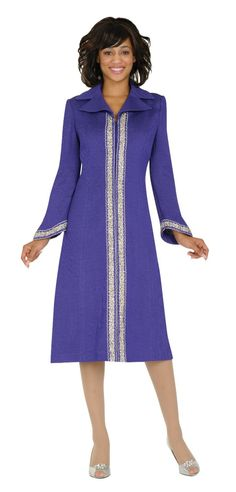 One Piece Church Dress 94091 By Todd and Olivia - Divine Church Suits Choir Dresses, Church Dresses, Dresses For Work, Choir Uniforms, Garment Of Praise, Afrocentric Clothing, Sunday Outfits, Women Church Suits, Church Attire