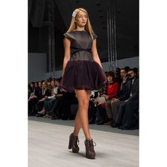 """Eco leather dress by Coo Culte #CooCulteShow #CooCulteBFW"""