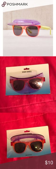 UO Visor Shades Urban Outfitters brand. Urban Outfitters Accessories Sunglasses