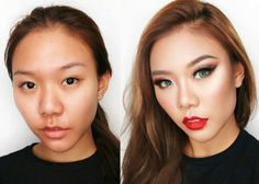 Amazing Makeup Transformations You Never Seen Amazing Makeup Transformation, Celebrity Selfies, Celebrity Bodies, Celebrity Bikini, Celebrity Photos, Hair A, Your Hair, Power Of Makeup, Makeup