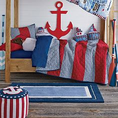 Cute Nautical Room - Hampshire Quilt from Company Kids