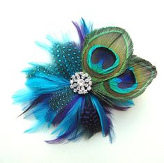 a7d9f8cb6973b 34 Best Feather Hair clips images