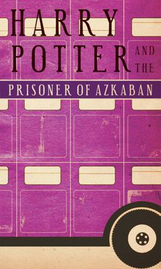 Minimalist Harry Potter book covers.