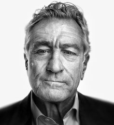 Robert De Niro (1943) - American actor and film producer. Photo by Marco Grob