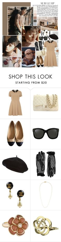 """I don't wanna live a lie."" by angiielf ❤ liked on Polyvore featuring Bela, mel, Chanel, Linda Farrow, Harrods, Accessorize and Mikimoto"