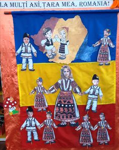 1 Decembrie, Bulletin Board, Tudor, Flag, Crafts, Romania, Projects, Plank, Manualidades