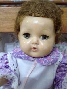 Vintage Tiny Tears Doll c1950 by UrthGypsyVintage on Etsy.