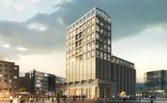 Heatherwick to Transform Cape Town's Grain Silo into Contemporary Art Museum,Exterior. Image Courtesy of Heatherwick Studio