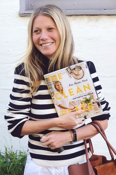 Gwyneth Paltrow's new healthy cookbook. Tons of recipes, meal plans, health tips, and detoxes.