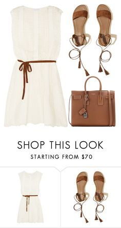 """""""Friday fashion"""" by j-n-a ❤ liked on Polyvore featuring Zimmermann, Hollister Co., Yves Saint Laurent, friday and fridayfashion"""