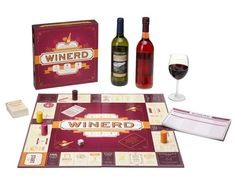 ...and play a board game with wine!