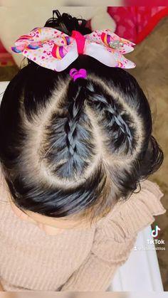 Easy Toddler Hairstyles, Cute Little Girl Hairstyles, Baby Girl Hairstyles, Cool Braid Hairstyles, Girl Hair Dos, Scene Hair, Curly Hair Styles, Braids, Kid Hair Dos