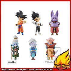"100% Original Banpresto WCF Complete Collection Figure  Vol.1 - Full Set of 6 Pieces from ""Dragon Ball SUPER"""