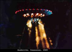 1989 - Nashville, Tennessee. September 27. The photographs of these UFOs were provided by Commander Graham Bethune of the US Navy.  He obtained these photographs of a FS-143 saucer from a close friend who claimed to have rendezvoused with another intelligence and requests anonymity. nashville1.jpg (622×447)