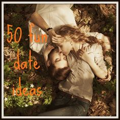50 Fun (and cheap) Date Ideas - leave your date ideas in the comments and I'll add them to the list. #datenight