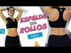 Ejercicios para reducir los rollos de la espalda - Mafe Ampuero - Caribe Azul - YouTube