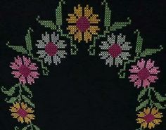 Creative Embroidery, Embroidery Designs, Cross Stitch, Brooch, Herb, Cross Stitch Samplers, Roses, Dots, Crosses